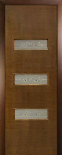 Шпонированная межкомнатная дверь Виктория
