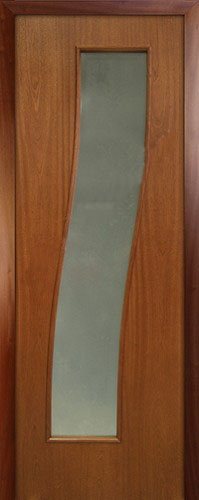 Шпонированная межкомнатная дверь Каскад