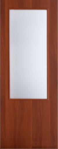 Ламинированная дверь 1с1 для строителей