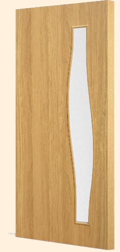 Ламинированная межкомнатная дверь С-10 (о)