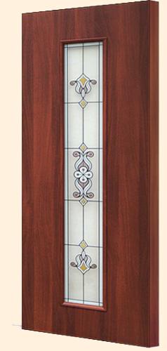 Ламинированная межкомнатная дверь С-21 (х) барокко