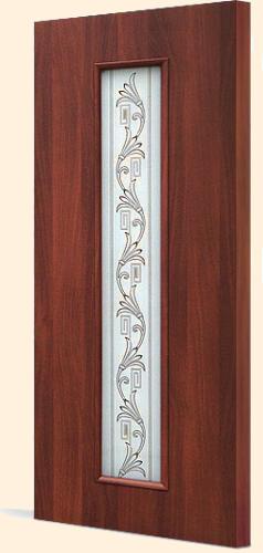 Межкомнатная дверь с экошпоном С-21(х) вьюн