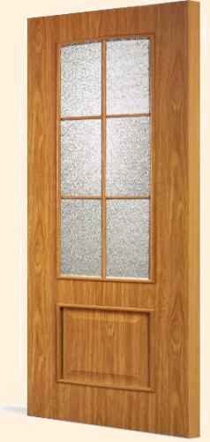Межкомнатная дверь с экошпоном С-5(о)оф