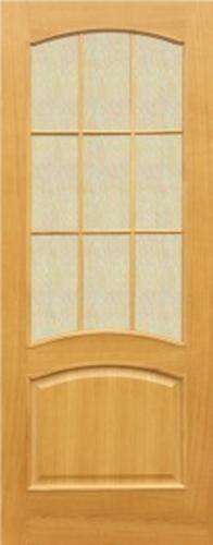 Шпонированная межкомнатная дверь Капри 3 (о)