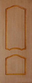 Шпонированная межкомнатная дверь Каролина (г)