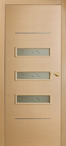 Шпонированная межкомнатная дверь Трио