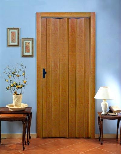 Дверь гармошка Эконом, бук (Тайвань)
