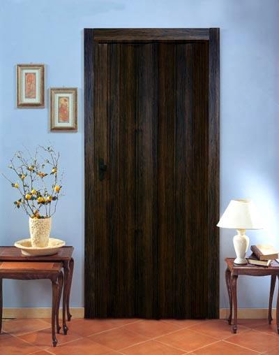 Дверь гармошка Эконом, венге (Тайвань)