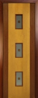 Шпонированная межкомнатная дверь Комби