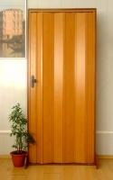 Дверь гармошка Премиум - Бук без витража