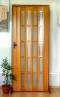 Дверь гармошка - Бук с витражом 2