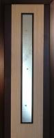 Шпонированная межкомнатная дверь Комби венге + дуб