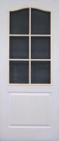 Грунтованная дверь под стекло