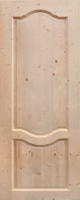 Межкомнатная дверь из массива сосны Дача (г)