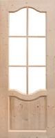 Межкомнатная дверь из массива сосны Дача (о)