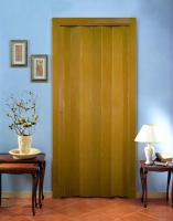 Дверь гармошка Эконом, дуб (Тайвань)